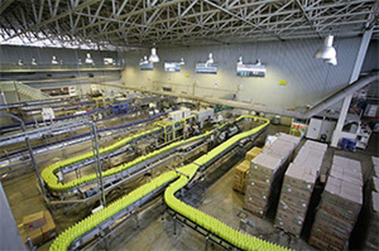 La gaseosa de limón es el producto más exitoso de la compañía, y alcanza un promedio de alrededor del 50% de sus ventas,