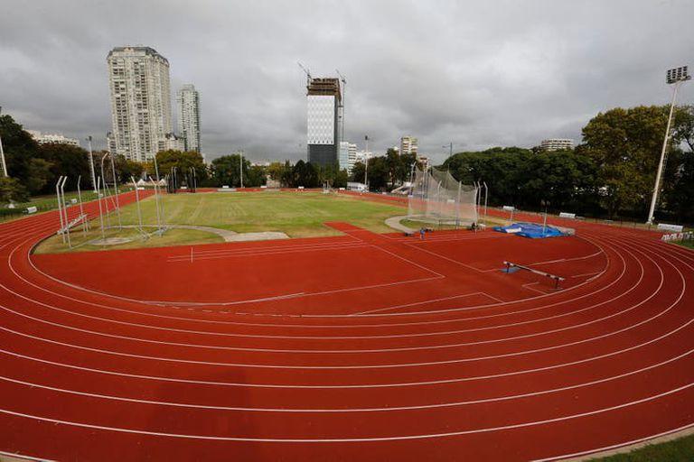 Una vista del Cenard, donde numerosos atletas se entrenan en pos de su anhelo olímpico.