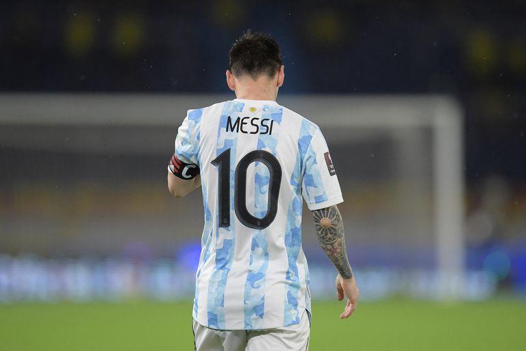 Lionel Messi, luego de que a la selección se le escurriera el triunfo en Barranquilla: Argentina y Colombia empataron 2-2 por las eliminatorias de la Copa del Mundo Qatar 2022.