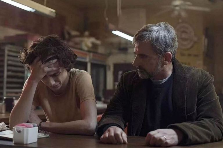 Los actores se sacan chispas en los duelos actorales del film de Felix Van Groeningen