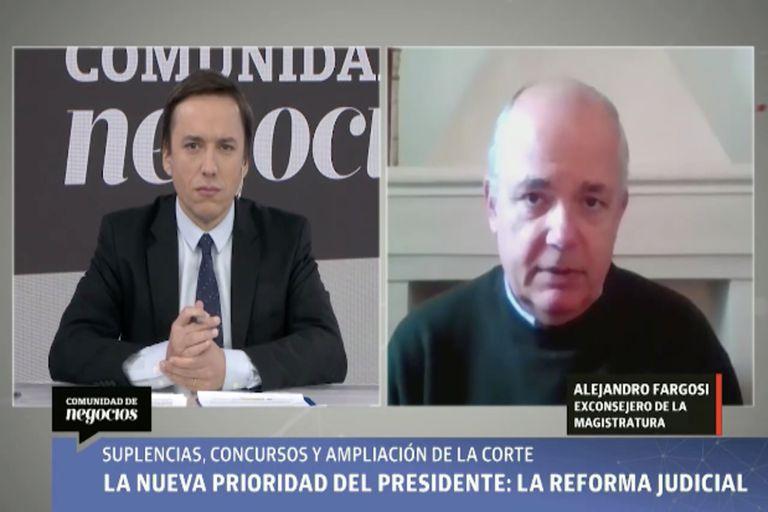 Alberto Fargosi estuvo en el programa de Comunidad de Negocios y habló sobre las reformas que quiere establecer el Gobierno
