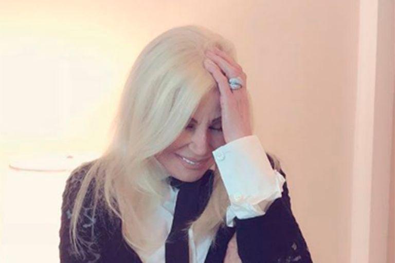 Susana, sobre el bozal legal de Maradona: ¡Una cautelar otra vez! ¡Qué amoroso!