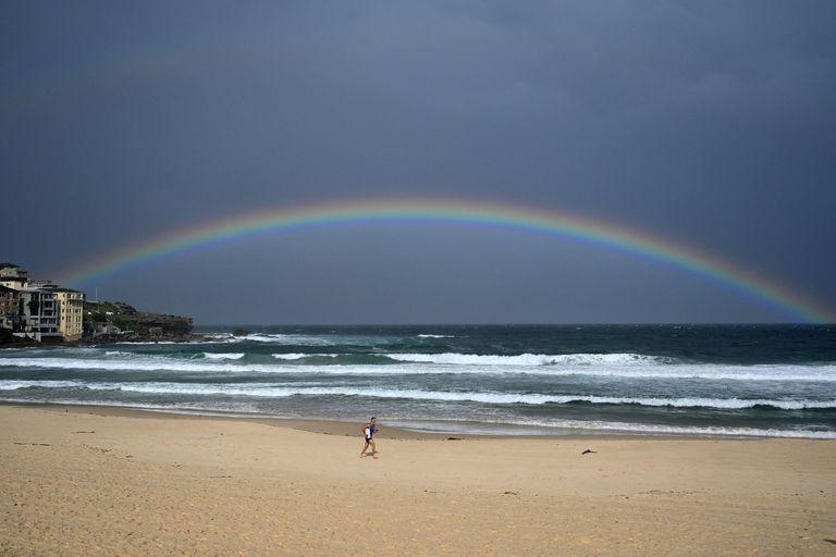 La famosa playa de Bondi Beach, en Sídney