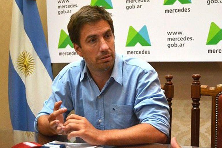 Juan Ignacio Ustarroz, intendente de Mercedes, provincia de Buenos Aires