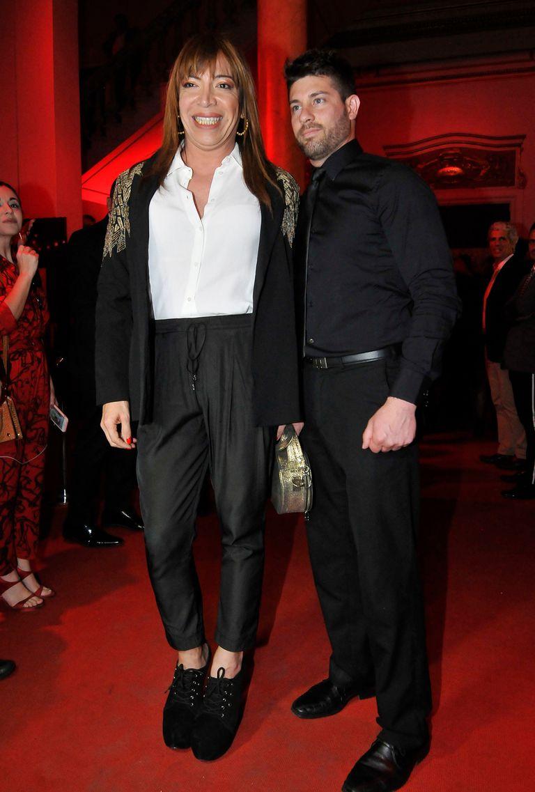 Lizi Tagliani y su novio, Leo Alturria, juntos de nuevo