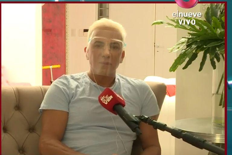 """Flavio Mendoza: """"Lo que más me importa en este momento es la salud de Carmen"""""""