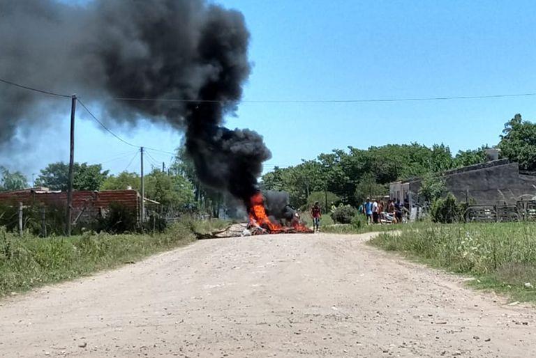 Furia y venganza. Tras un homicidio incendiaron 11 casas