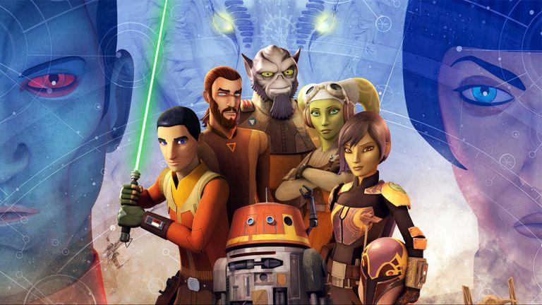 Héroes y heroínas de Star Wars Rebels