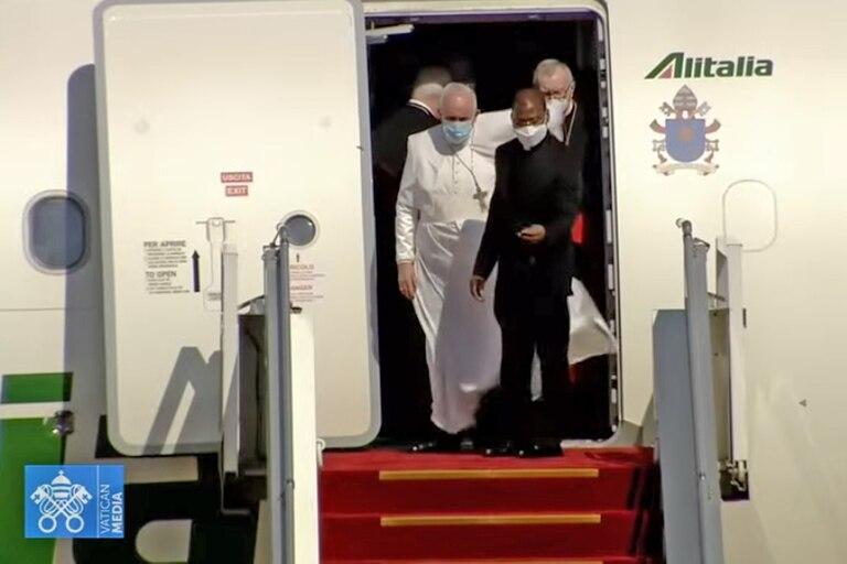El Papa llegó a Irak