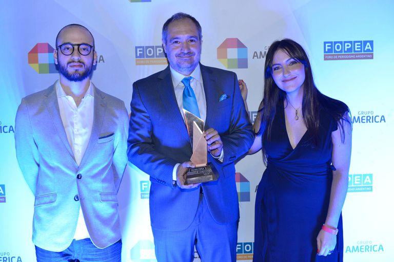 Periodistas de LA NACION, distinguidos en los premios Fopea