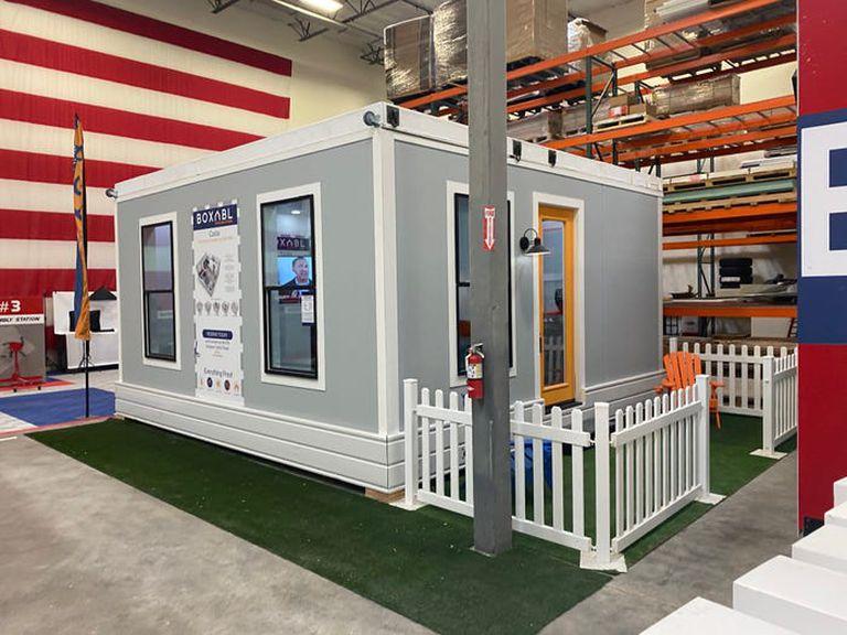 Las unidades de Boxabl pueden combinarse para formar viviendas más grandes