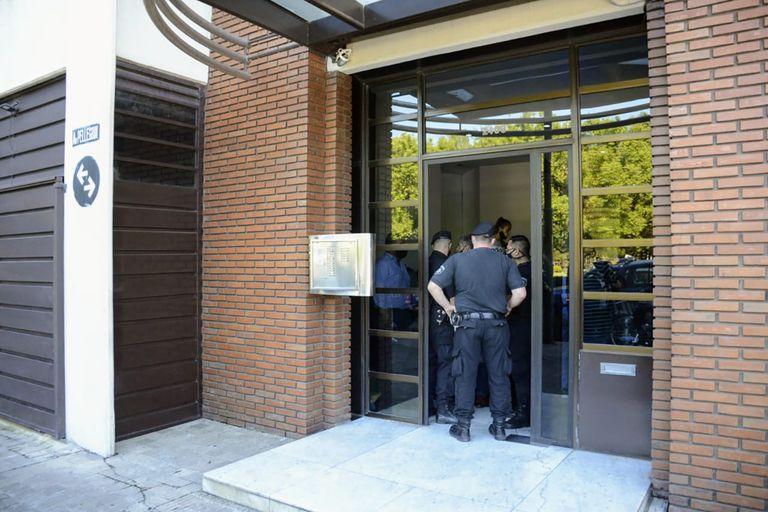 Robo en la oficina del abogado Marcos Litvak, en la avenida Pellegrini al 2400, en el centro de Rosario