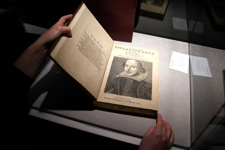 Shakespeare marcó un récord mundial en una subasta de Christie's
