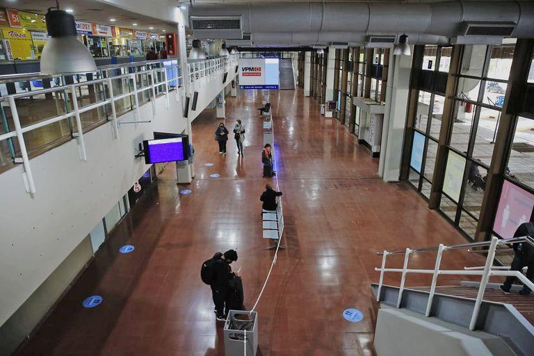 Durante el cierre de la terminal, se realizaron obras de mejora, entre ellas modificaciones en los accesos, las salas de espera y la plataforma descubierta para asegurar el distanciamiento social