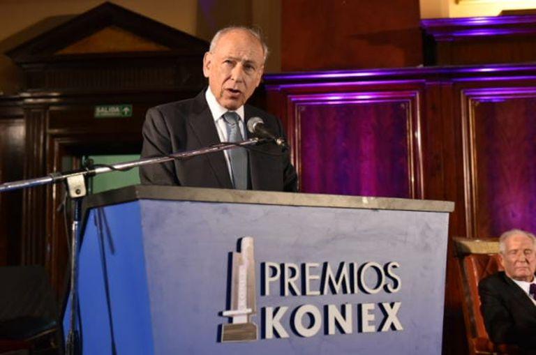 Luis Ovsejevich, anfitrión y artífice de los Konex, que cumplen 40 años