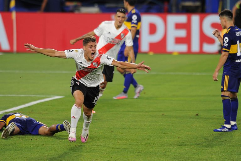 Boca - River: los cuatro goles de un superclásico vibrante en la Bombonera