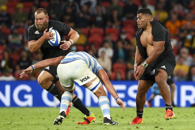 los pumas Vs all blacks, rugby