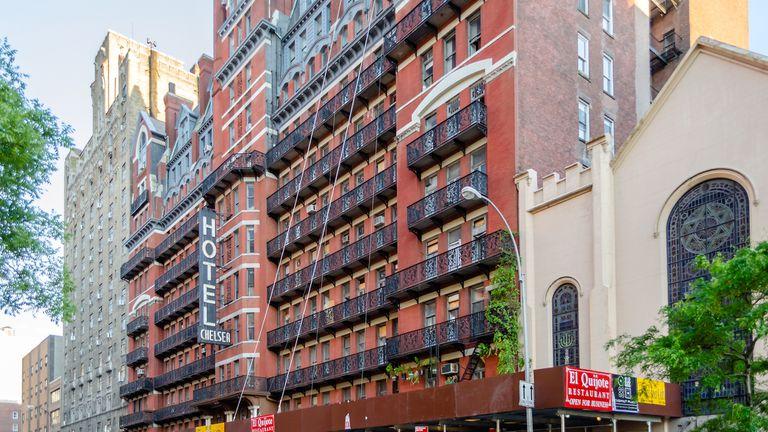 Hotel Chelsea en Nueva York, la habitación donde Nancy Spungen murió acuchillada