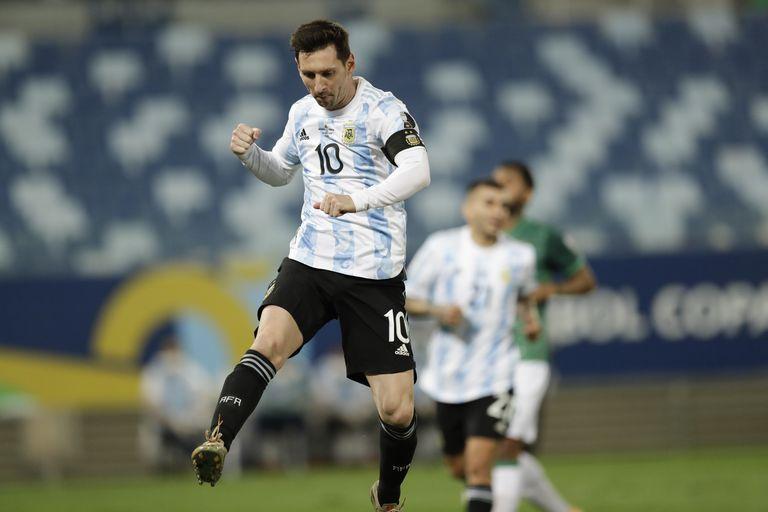 Messi festejó 75 goles entre su primer grito, en 2006, ante Croacia, y la actualidad