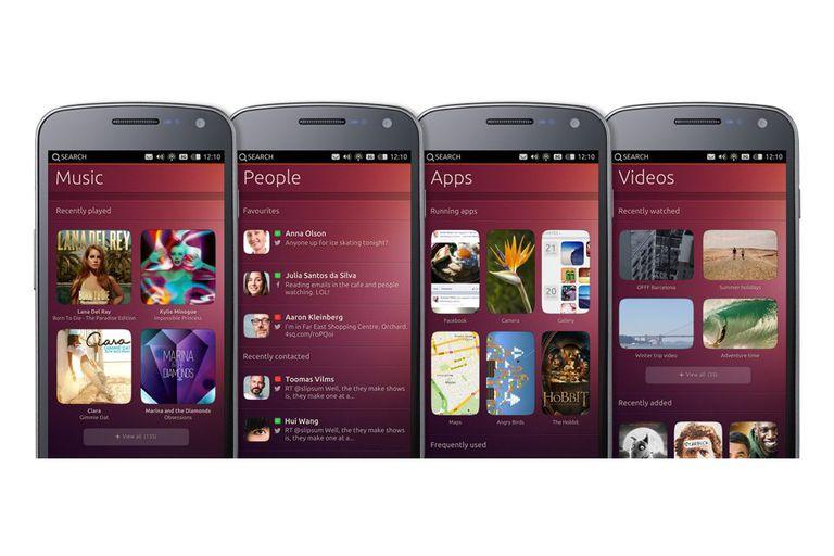 Las aplicaciones nativas de Ubuntu para móviles