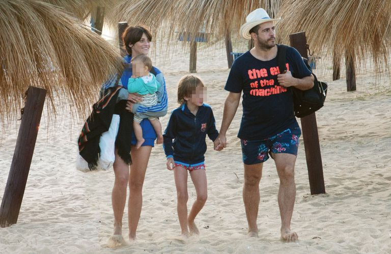 Las vacaciones familiares de Mónica Antonópulus y Marco Antonio Caponi