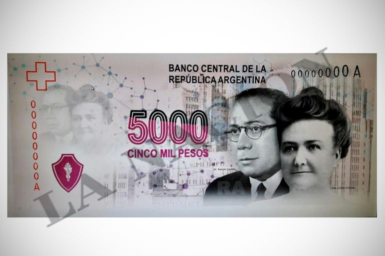 La negativa del Gobierno de imprimir el billete de $5000 desembocó en una necesidad creciente de los papeles de mayor denominación; la Casa de Moneda lanzó una licitación internacional