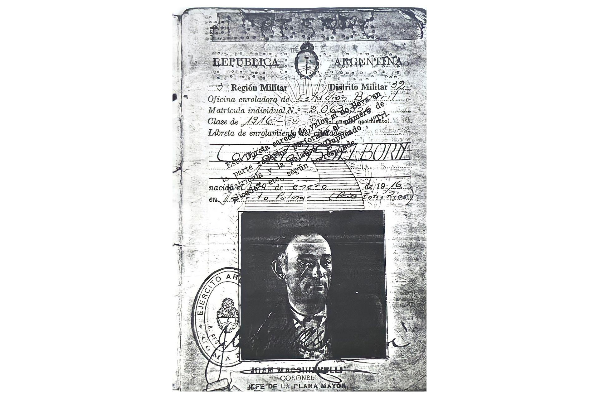 Conrado Asselborn murió en 1992 en Cabo Vírgenes