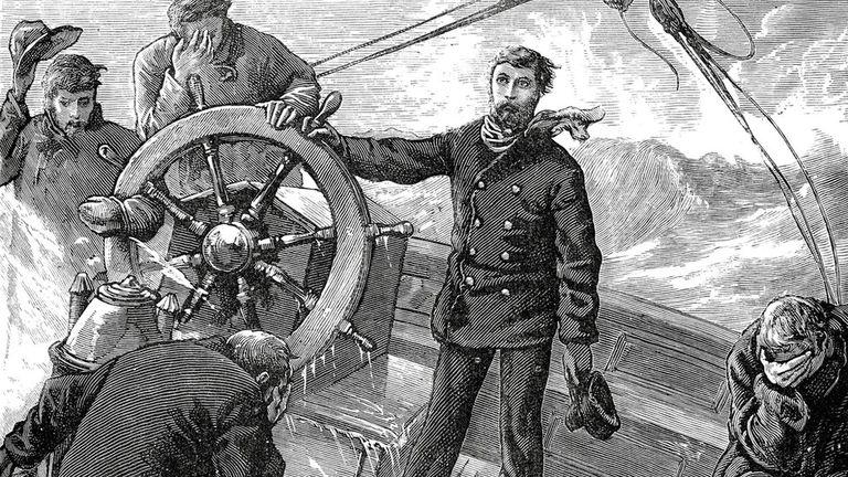 La melancolía estaba asociada a los marineros que extrañaban su hogar en tierra firme.