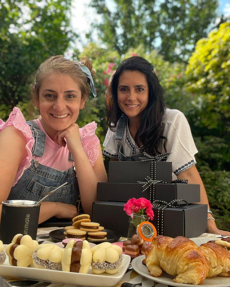 Gimena y Carolina Cigliutti encontraron una veta en el negocio de la pastelería.