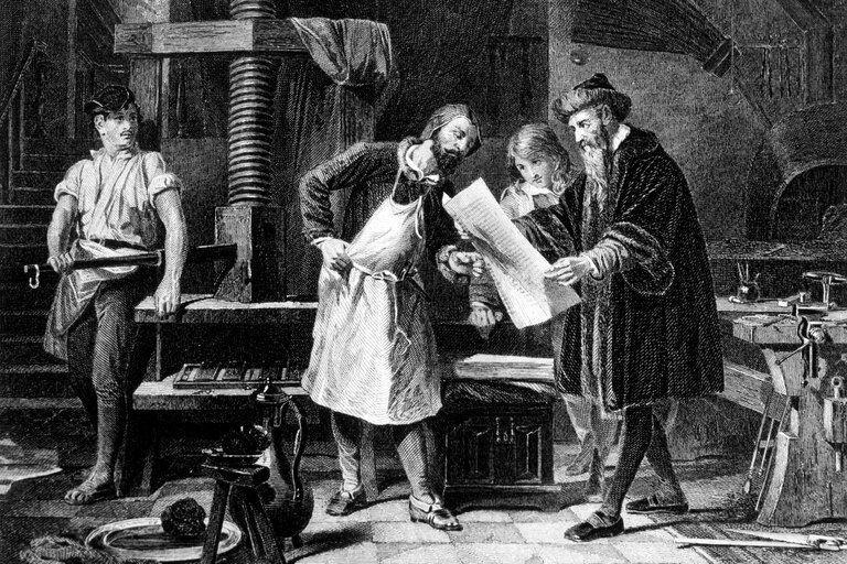 """Gutenberg: de rey de la imprenta y """"hombre del milenio"""" a perderlo todo"""