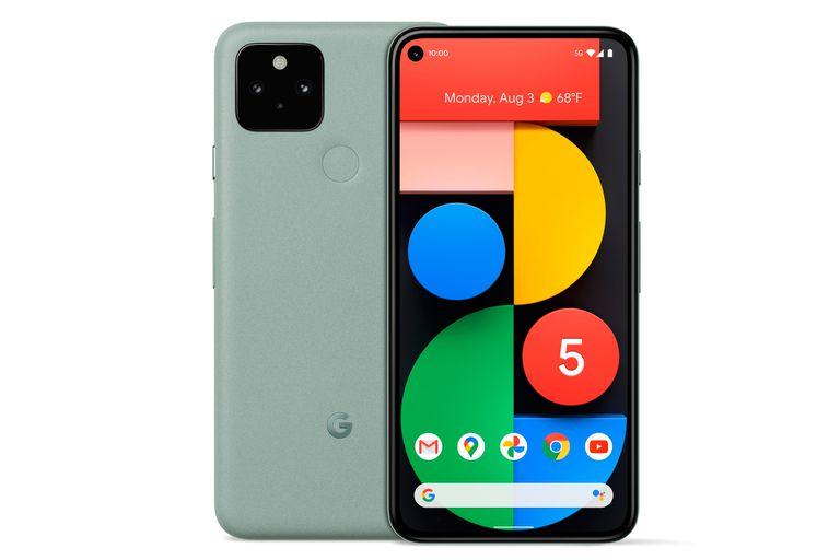 El Pixel 5 tiene una pantalal de 6 pulgadas, chip Snapdragon 765G y una batería de 4080 mAh