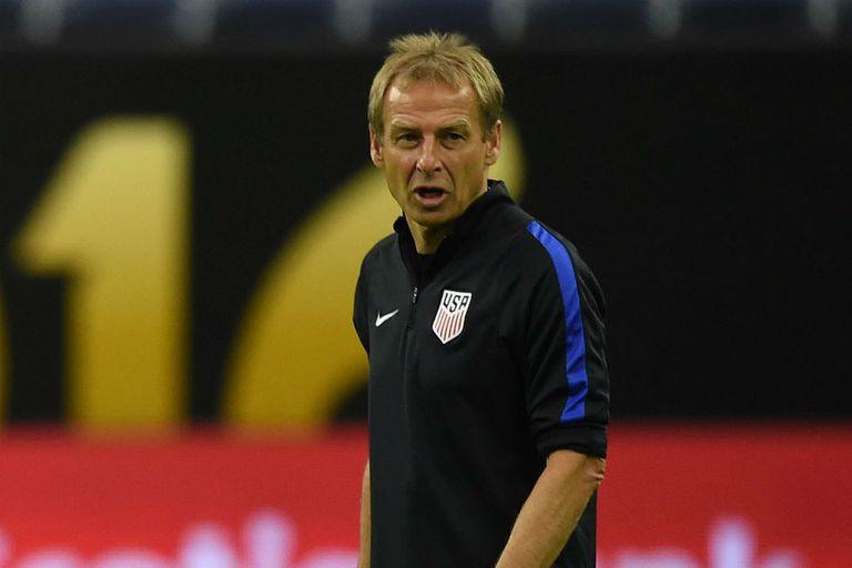 Klinsmann, entrenador del seleccionado anfitrión que quiere llegar a la gran final