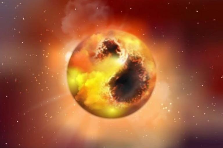 Betelgeuse es una estrella gigante roja unas 1.000 veces más grande que el Sol