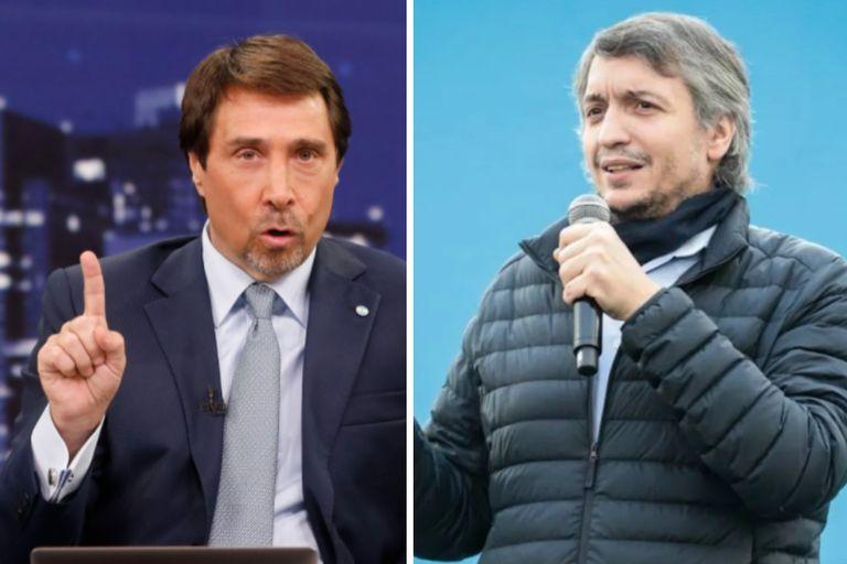 """El furioso comentario de Feinmann sobre Máximo Kirchner: """"¿De qué te reís?"""""""