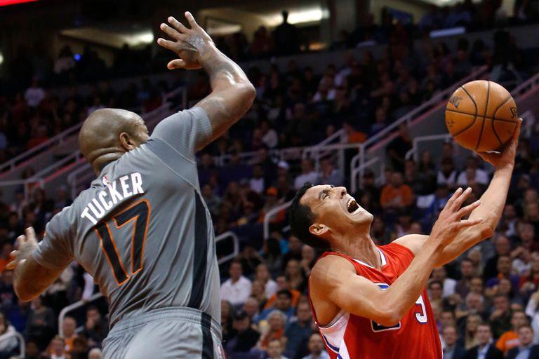 Pablo Prigioni no pudo evitar la caída de los Clippers