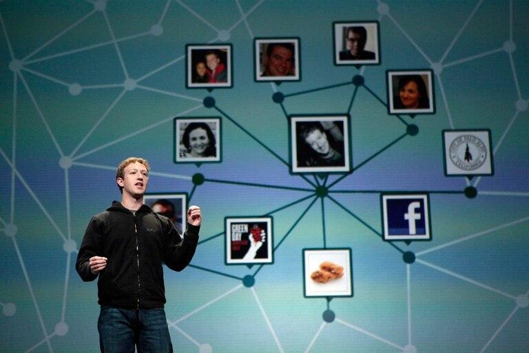 Mark Zuckerberg, fundador de Facebook, durante un evento para desarrolladores de la compañía