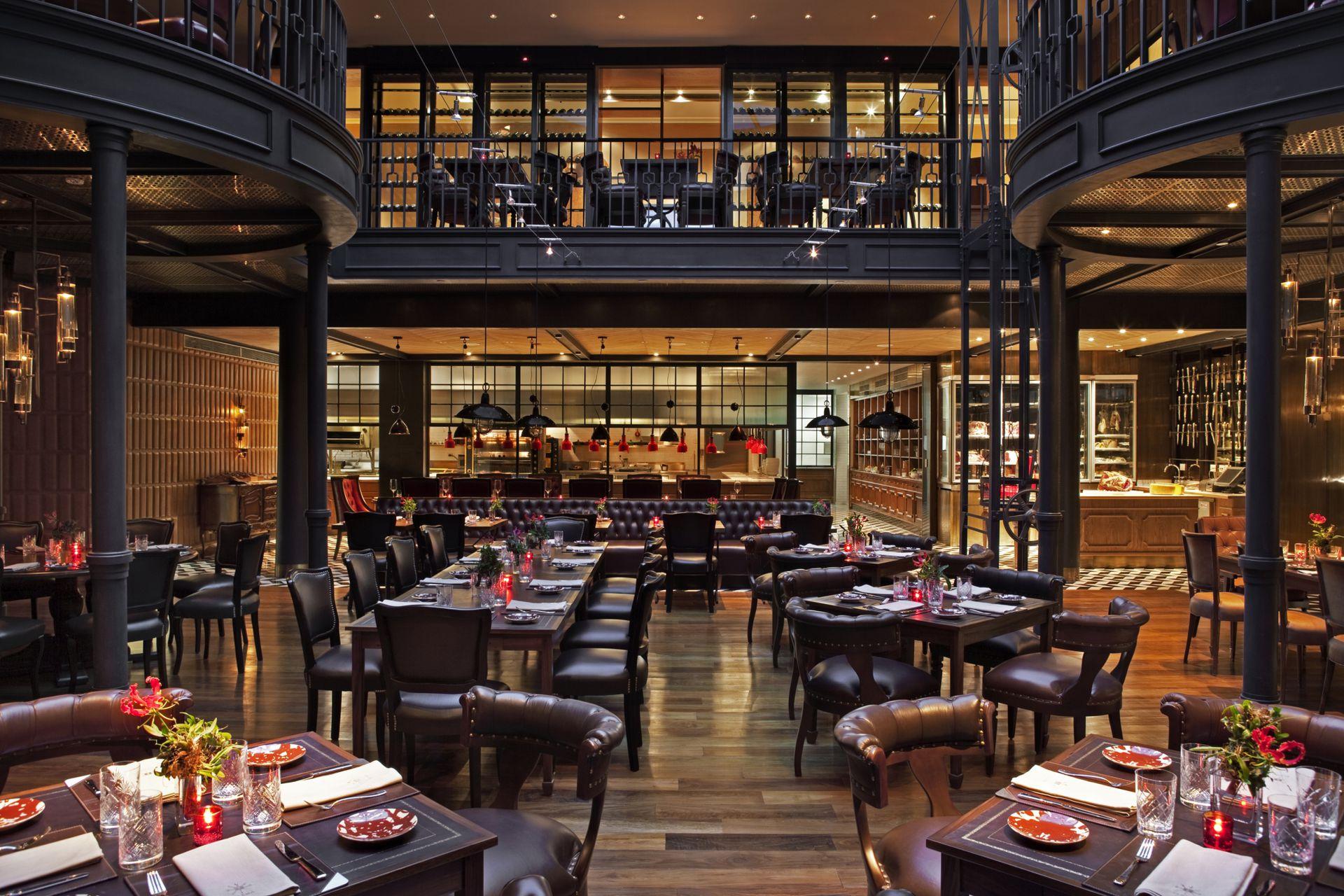 El salón del restaurante Elena.