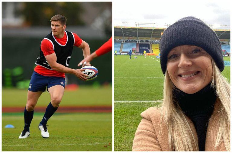 """Rugby: agreden en redes a una periodista por """"interrogar"""" al capitán inglés"""