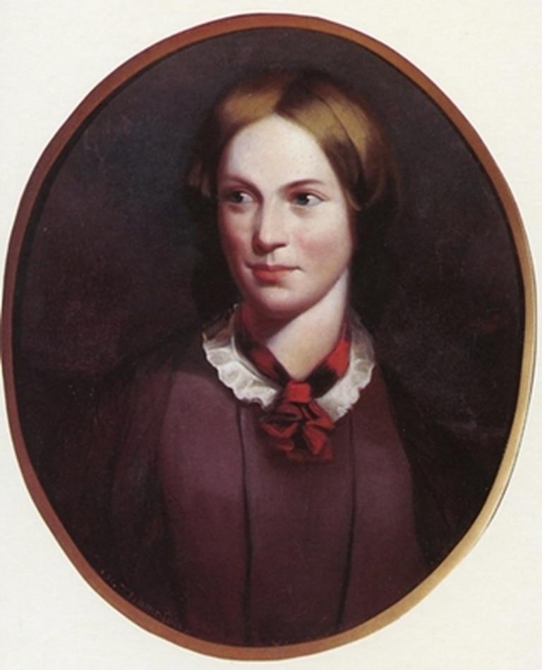 Retrato de Charlotte Brontë por George Richmond