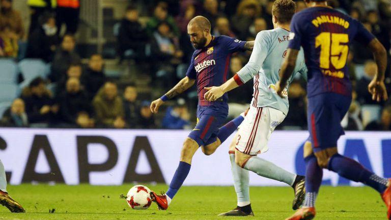 Barcelona empato con Celta 1-1 por la Copa del Rey