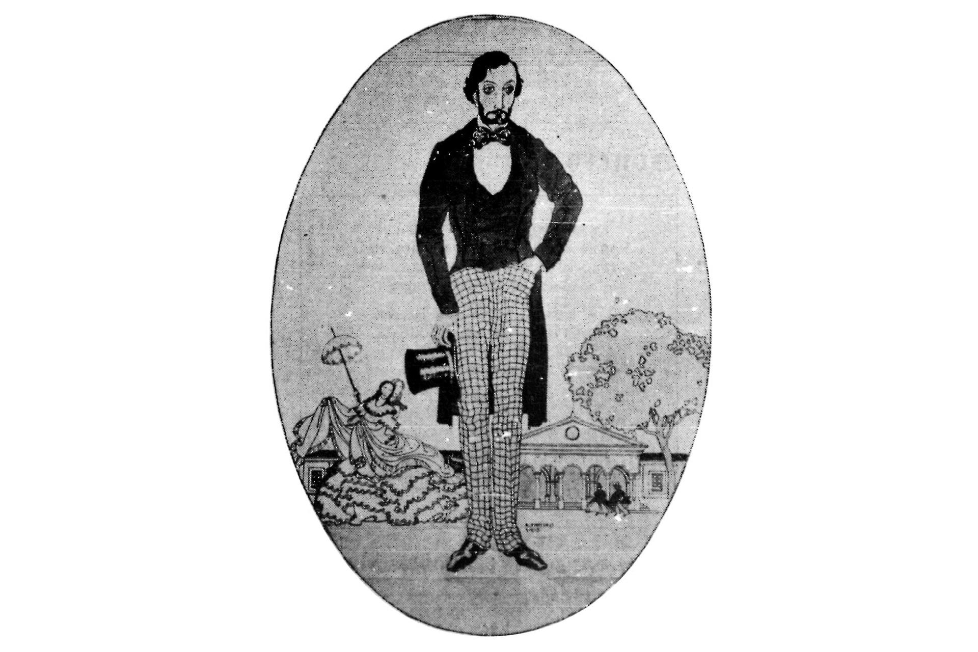Bartolomé Mitre, 1936. Uno de los más destacados ilustradores de principios de siglo
