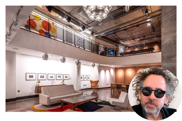 Piscina en el living: la ecléctica casa de Tim Burton se vende a US$27 millones