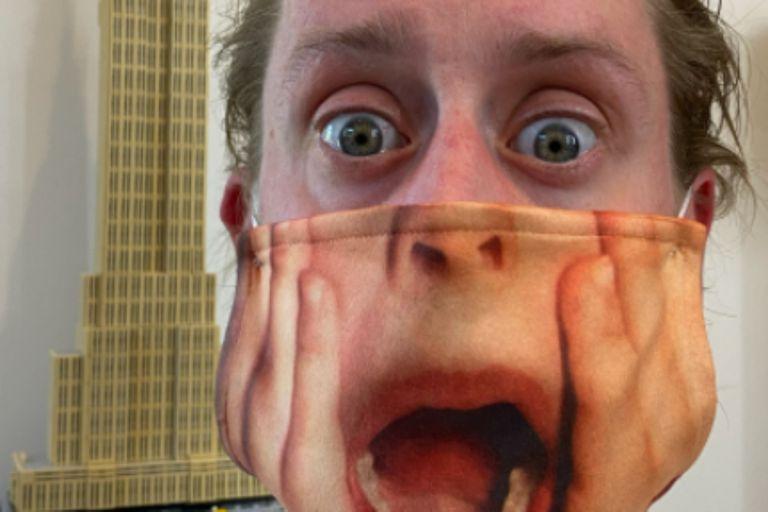 Mi pobre angelito: Macaulay Culkin causó furor en las redes por su tapabocas