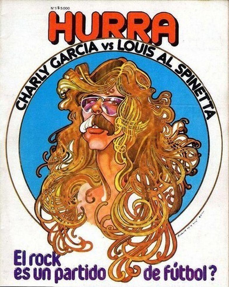 La portada de la revista Hurra en su edición de julio de 1980