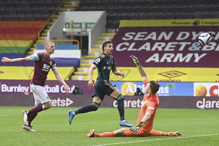 Rodrigo Moreno fue una de las grandes figuras en el triunfo de Leeds sobre Burnley