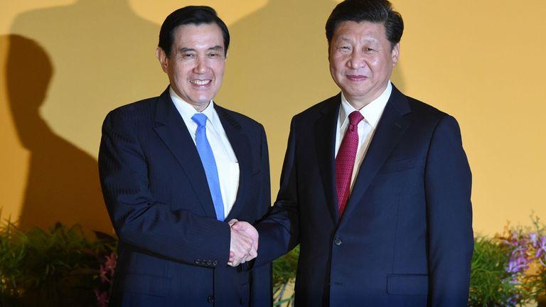 Ma y Xi mantuvieron la reunión, que hace un tiempo habría sido impensable, en Singapur