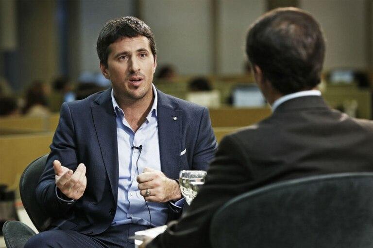 El fiscal antilavado Carlos Gonella, en el ciclo Conversaciones