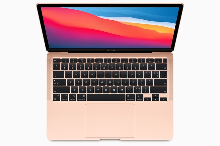 Una MacBook Air con chip M1 presentada en noviembre último