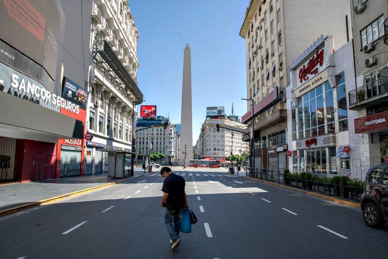 Las fotos del primer fin de semana de cuarentena en Buenos Aires