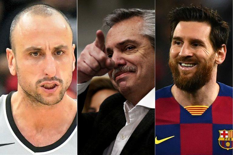 Habló Scola. Comparó a Alberto con Ginóbili y Messi: los motivos de ese mensaje